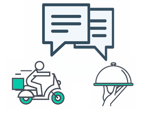 integrated communication icon