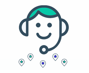 communication with drivers icon